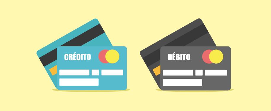 tarjeta de credito o debito