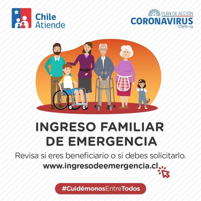 Paso a paso para solicitar el Ingreso Familiar de Emergencia en Chile