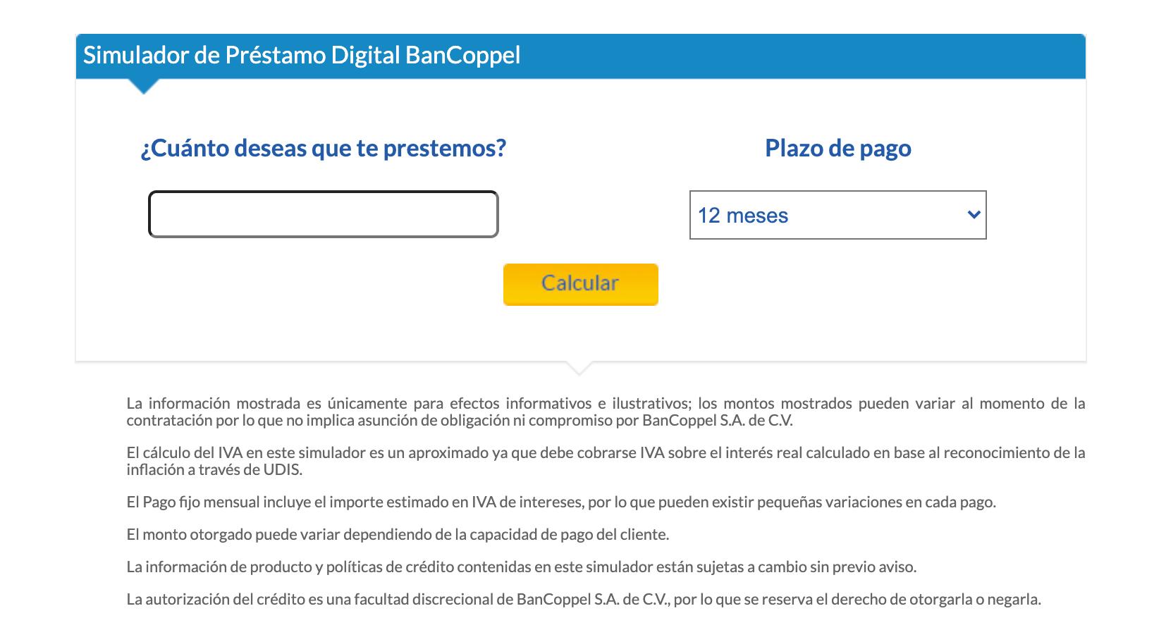 Conozca los beneficios y las tasas de interés de los préstamos personales de BanCoppel
