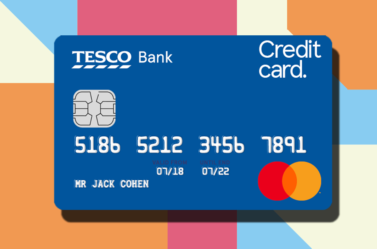 Tesco Credit Card - How to Order the Purchases Card